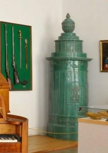 Múzeumi kályhák (Zöld antik)