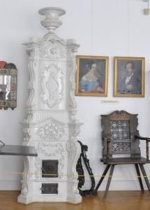 Múzeumi kályhák (Fehér antik)